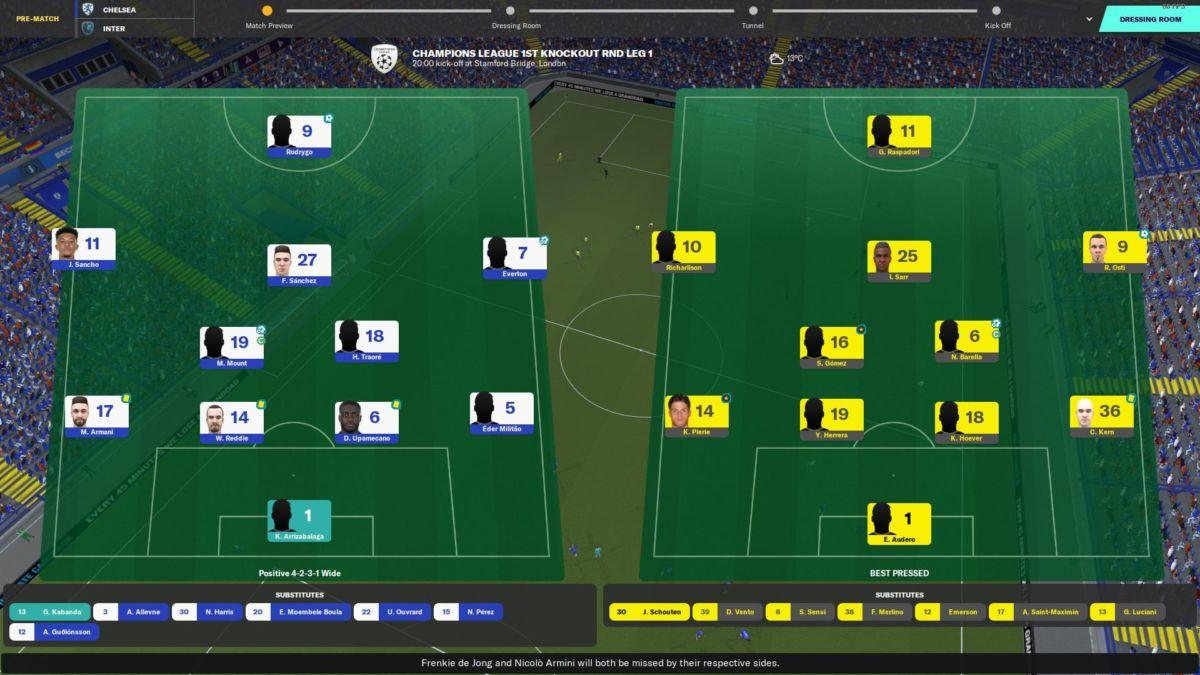 Football Manager Match Engine