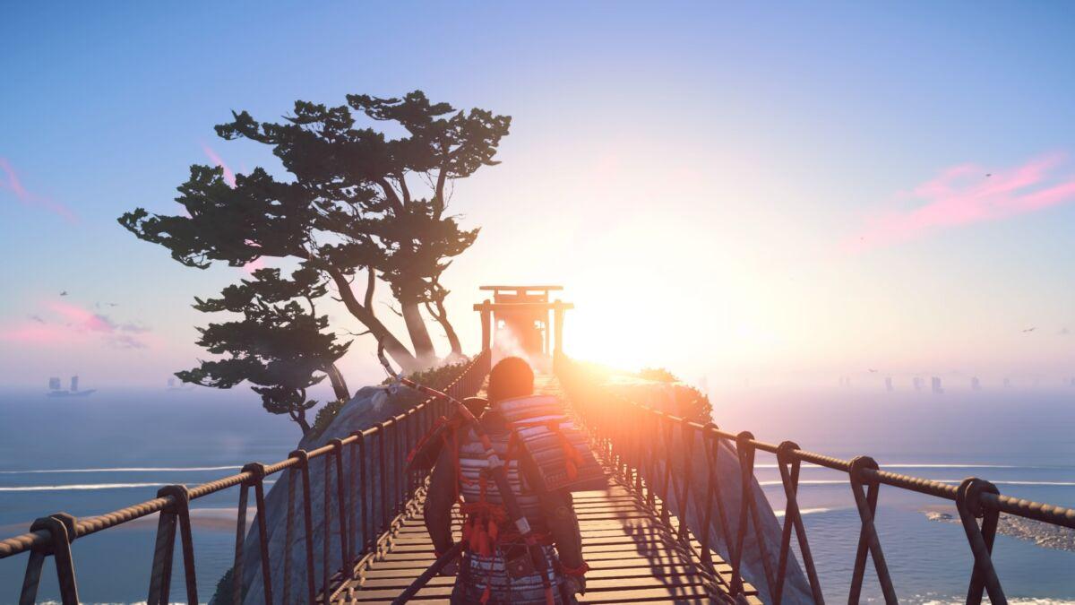Ghost of Tsushima Open World
