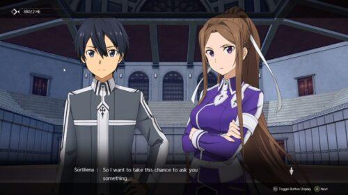 Sword Art Online Alicization Lycoris review 10
