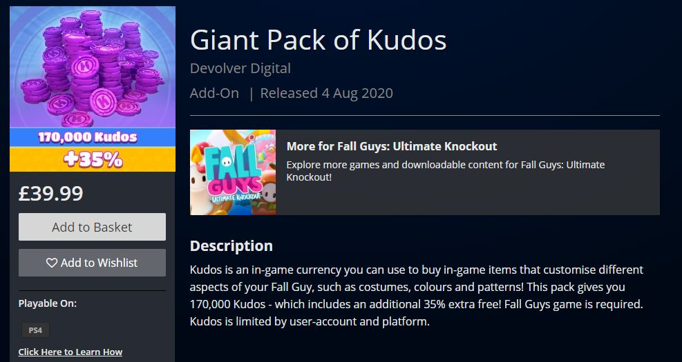 Giant Pack of Kudos