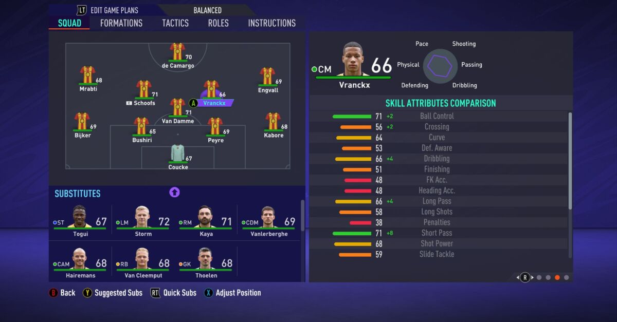 Aster Vranckx FIFA 21
