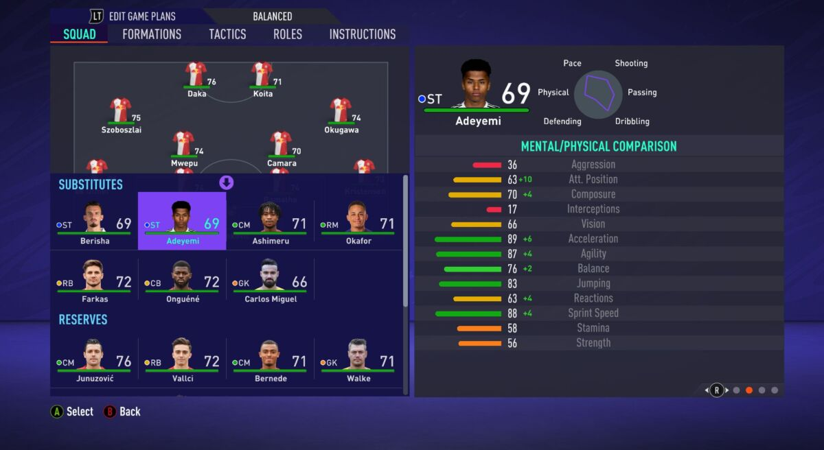Karim Adeyemi FIFA 21