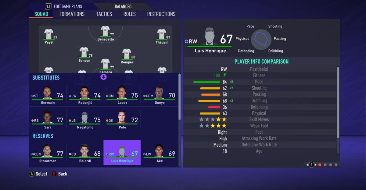 Luis Henrique FIFA 21