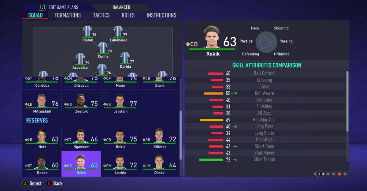Omar Rekik FIFA 21