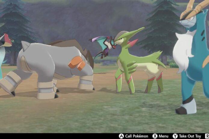 Sword and Shield Hidden Pokemon