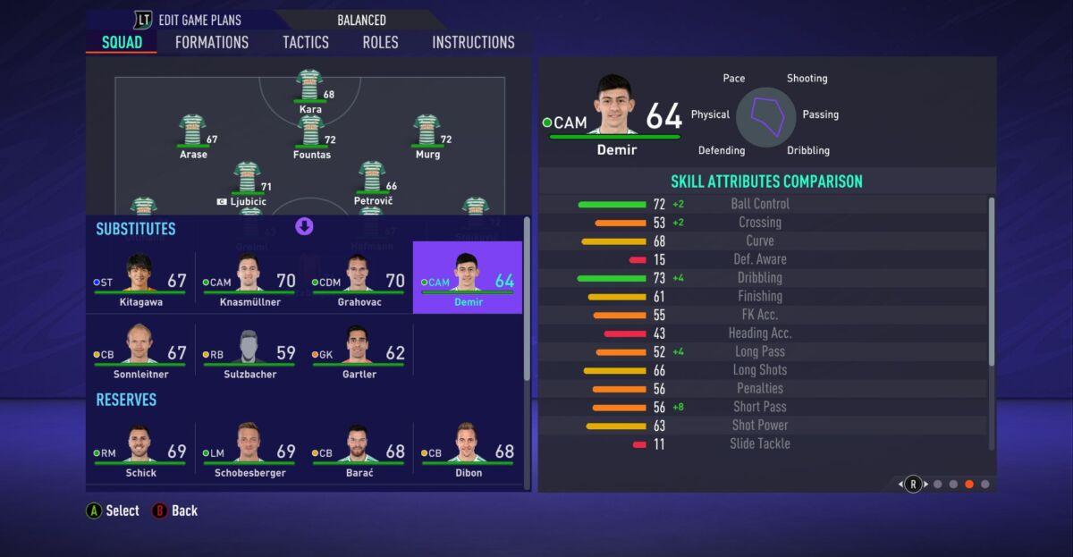 Yusuf Demir FIFA 21