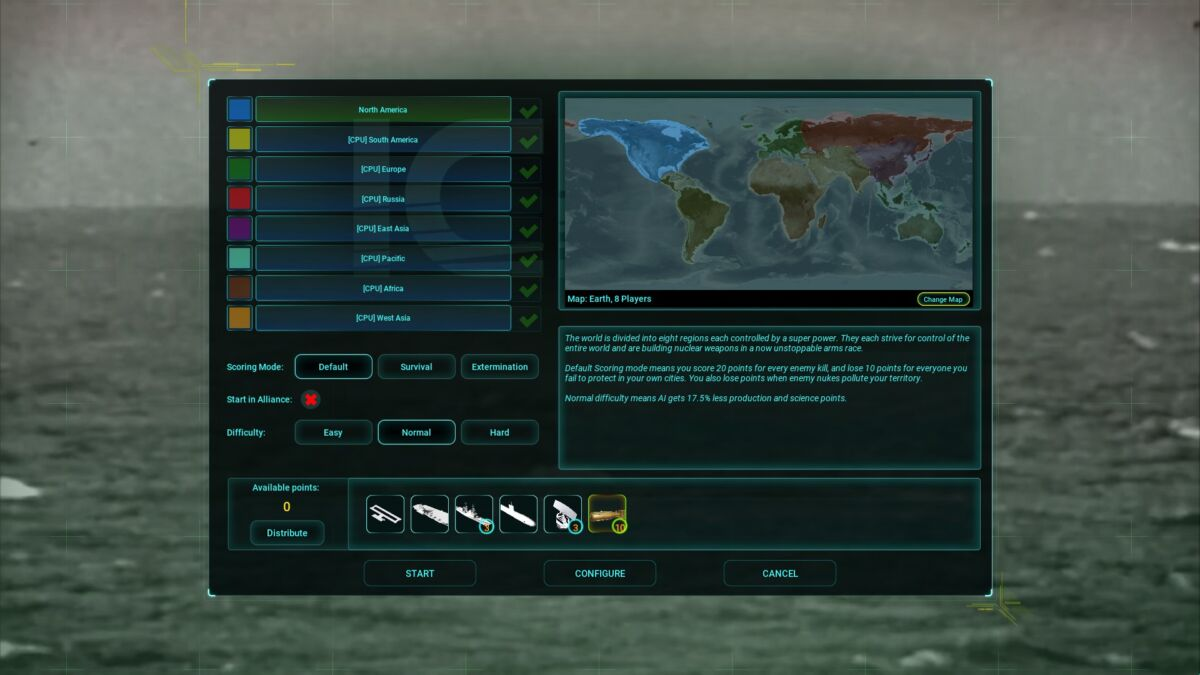 ICBM game