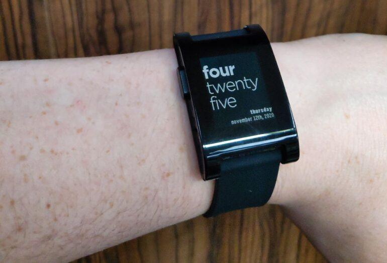 Pebble Watch 2020