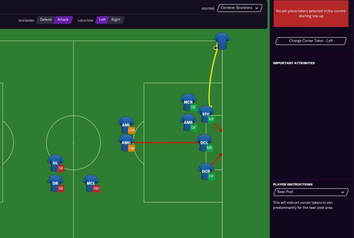 Football Manager 2021 corner tips