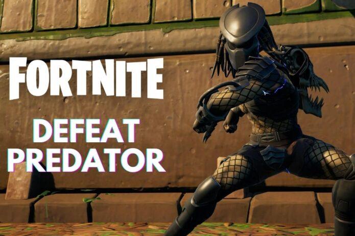 Fortnite Defeat Predator