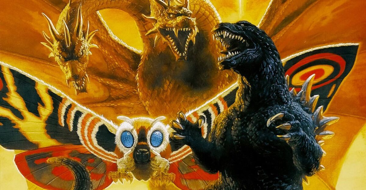 Godzilla, Mothra & King Ghidorah Giant Monsters All-Out Attack (2001)
