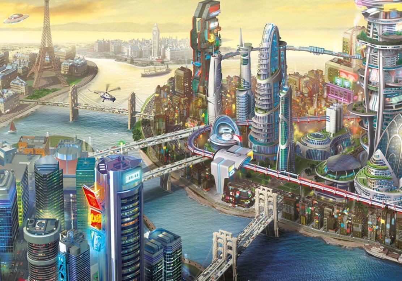 Sim City 2013