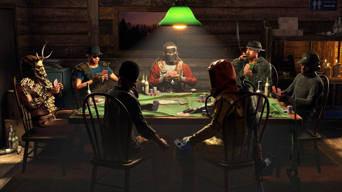 Rust poker tables