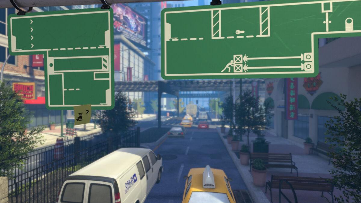 The Pedestrian game