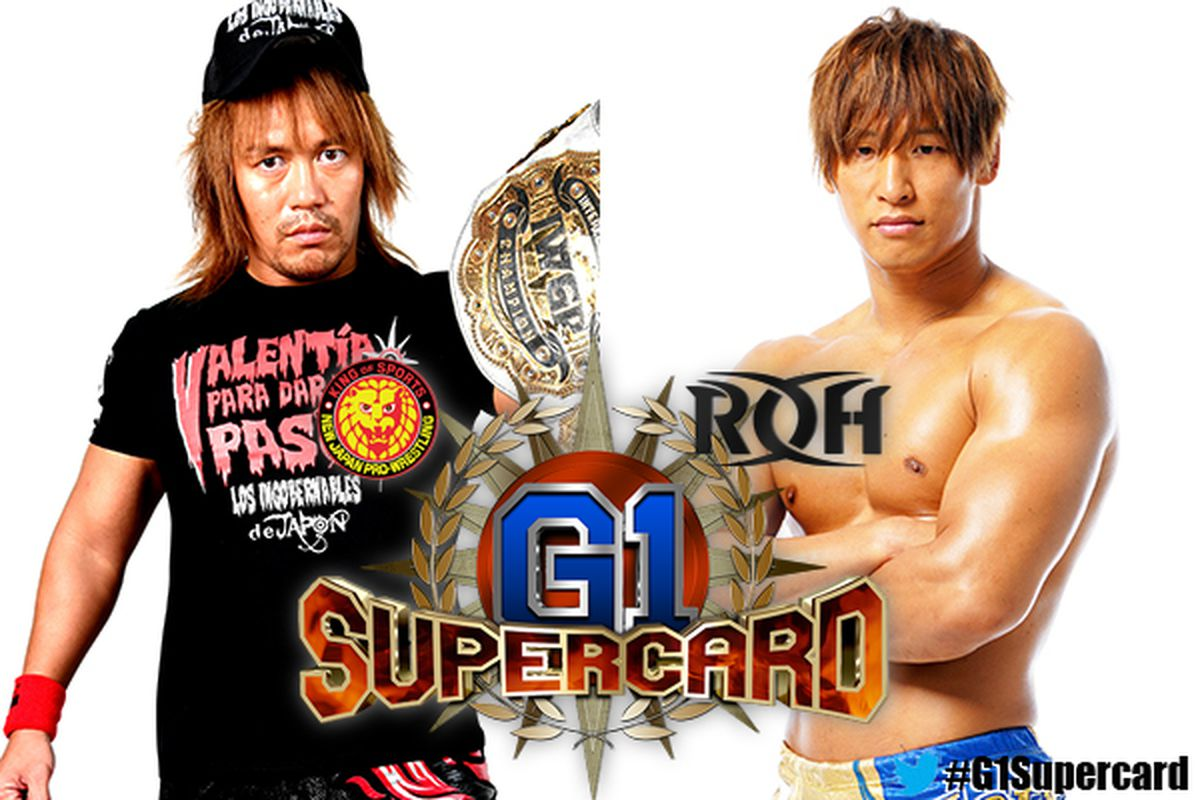 Tetsuya Naito (c) vs Kota Ibushi - G1 Supercard in MSG (Apr 6th, 2019)