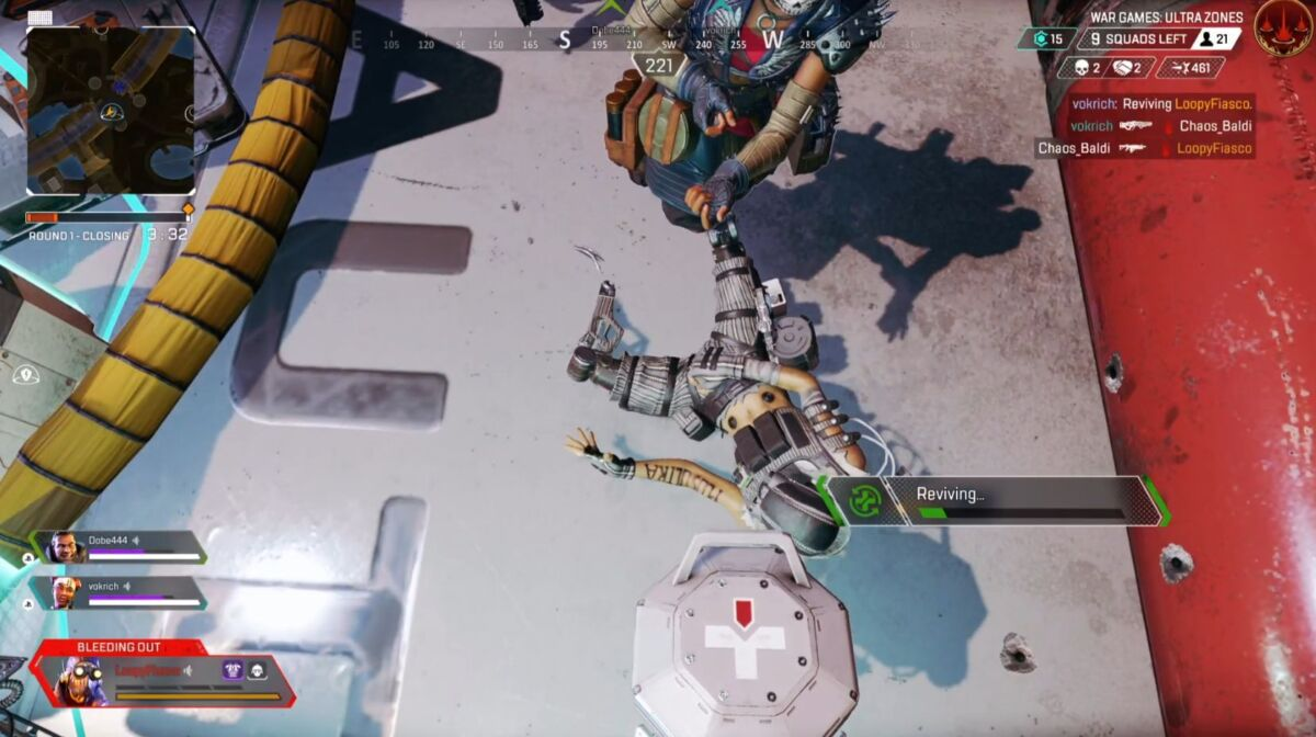 Apex Legends downed