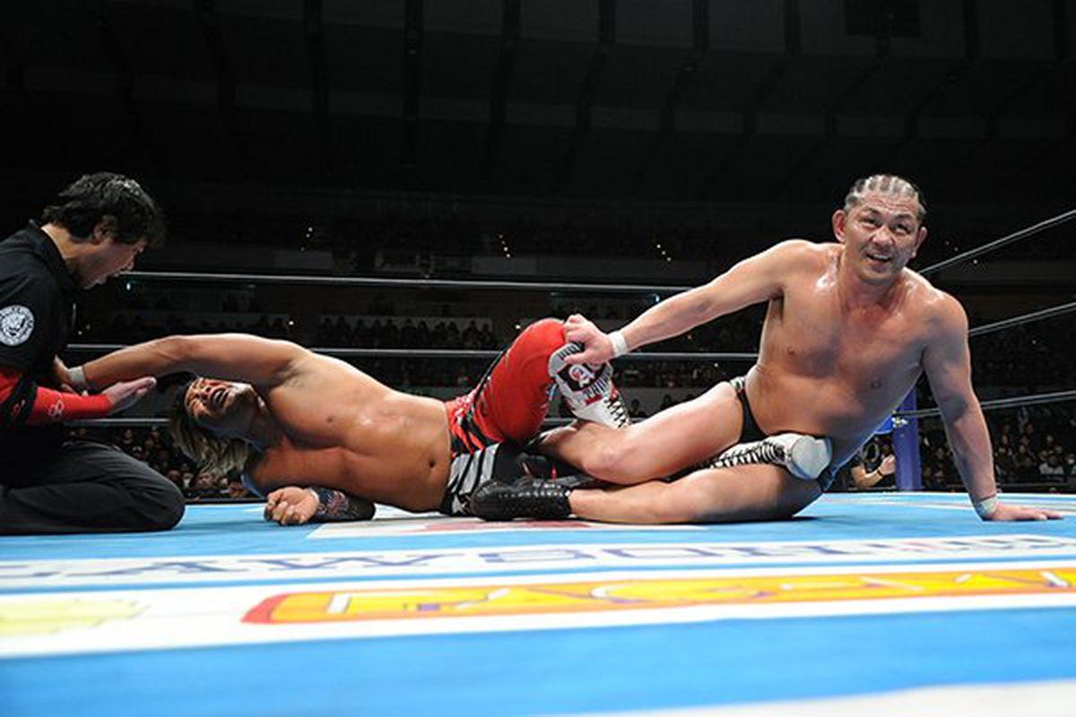 Hiroshi Tanahashi (c) vs Minoru Suzuki - New Beginning in Sapporo Day 1 (Jan 27th, 2018)