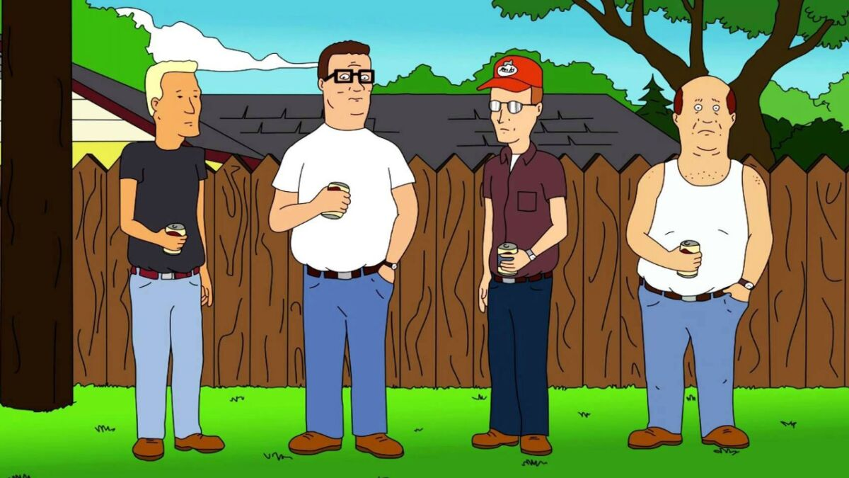 King of the Hill animated show