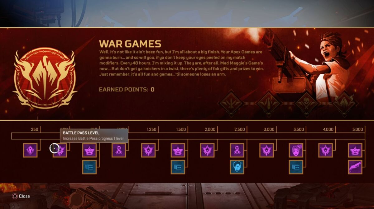 War Games Takeover
