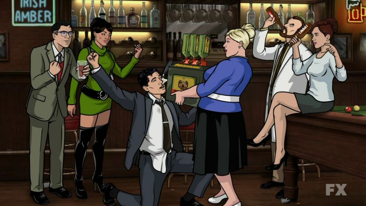 archer animated show