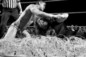 Foley vs Orton