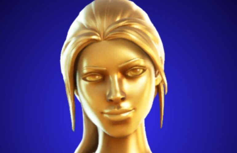 Fortnite Lara Croft Golden