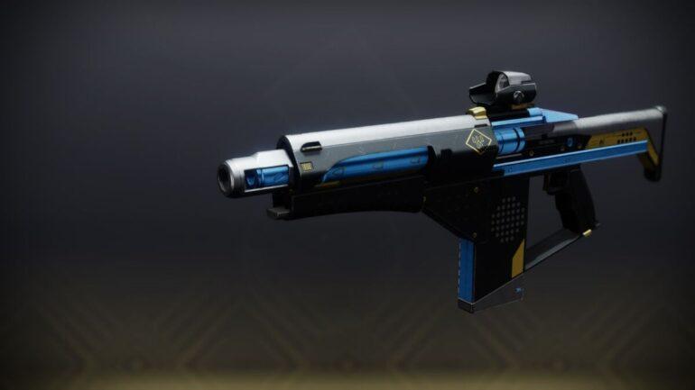 Null Composure Fusion Rifle