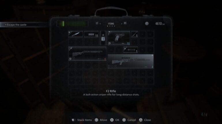 Resident Evil Village F2 Rifle