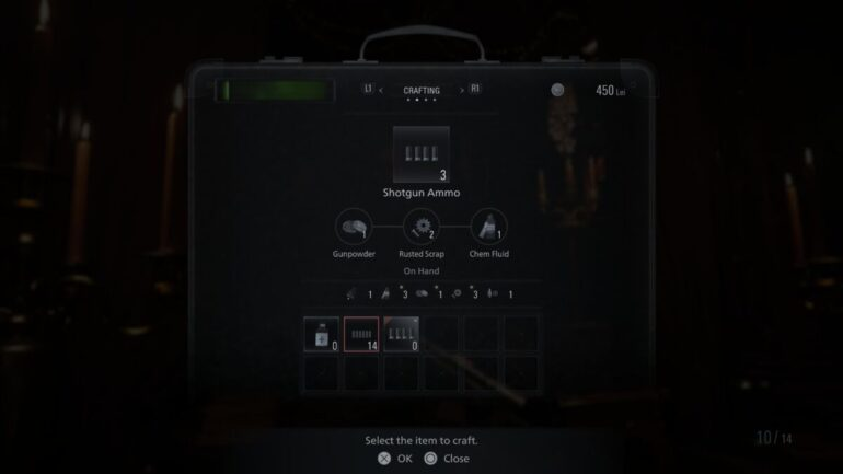 Resident Evil Village shotgun ammo