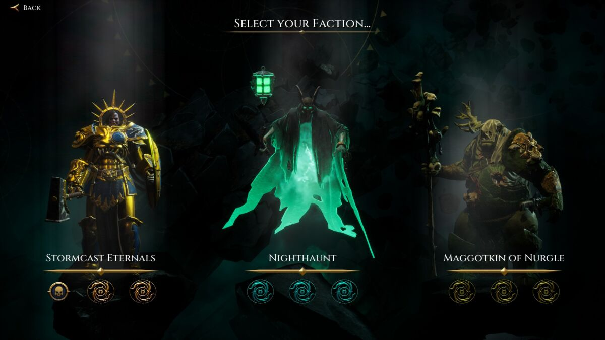 Storm Ground Factions