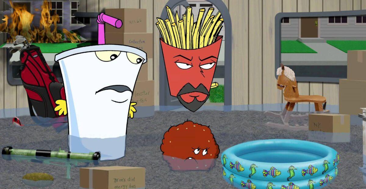 Aqua Teen Hunger Force best adult swim shows