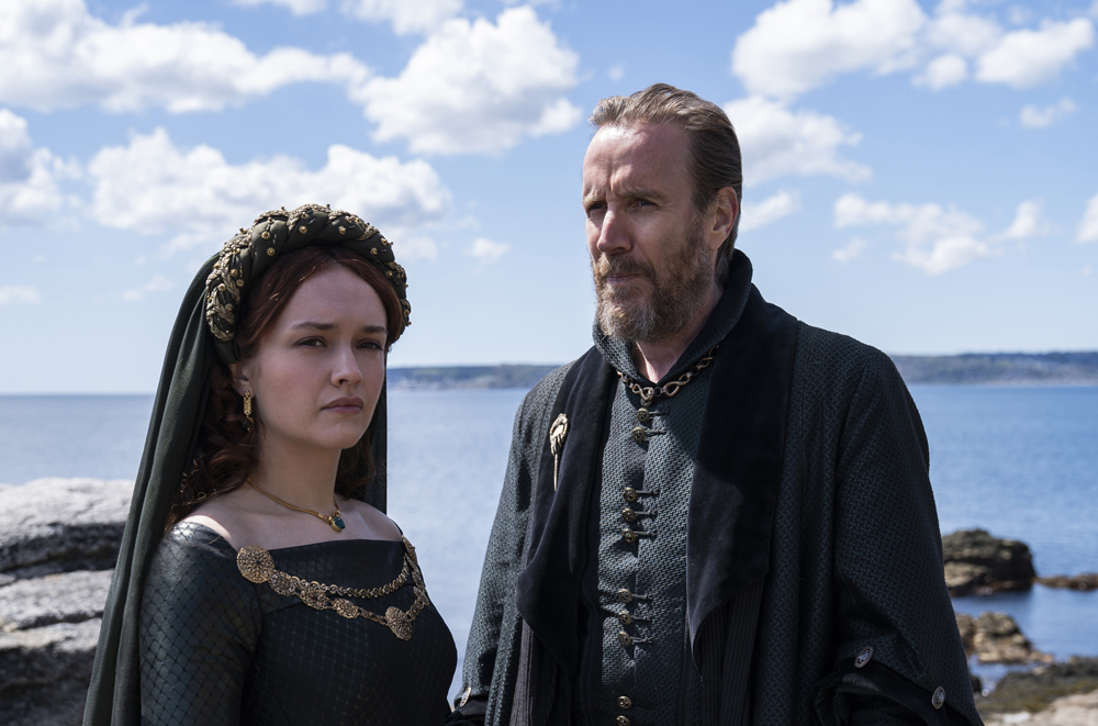 house of the dragon Olivia Cooke Rhys Ifans