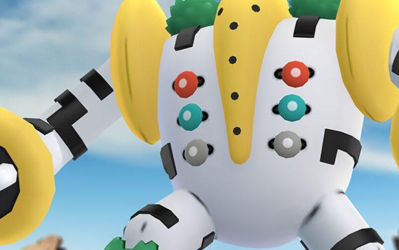 Pokémon GO regigigias