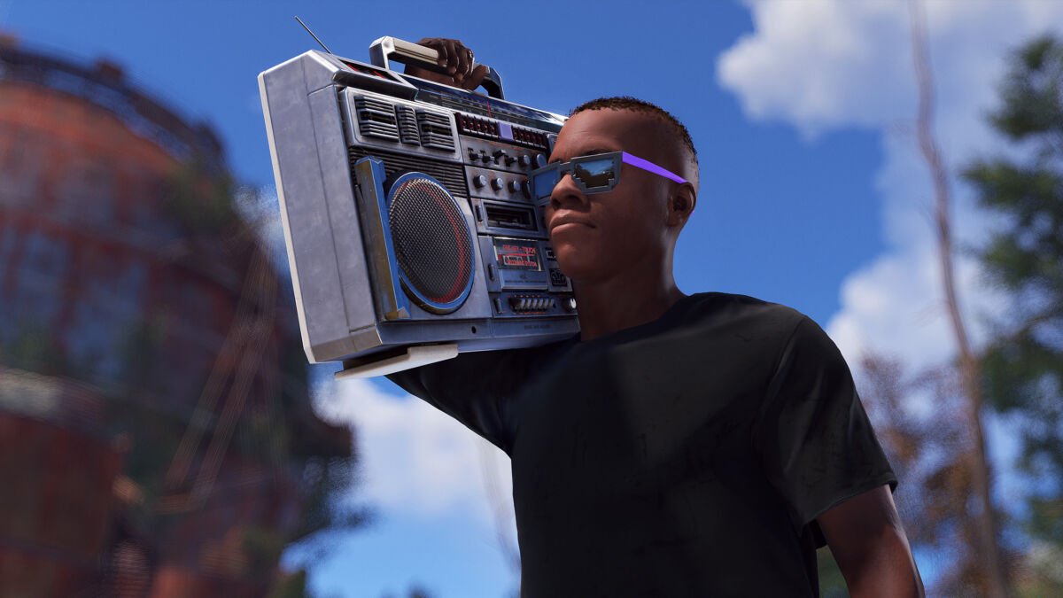 Rust Boom Boxes