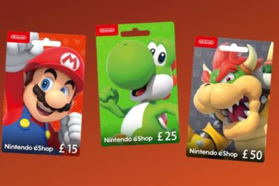 Switch eShop Gift Cards
