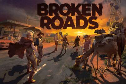 Broken Roads Art