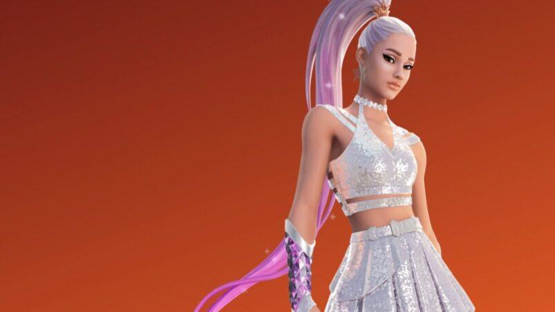 Ariana Grande Fortnite skin FI