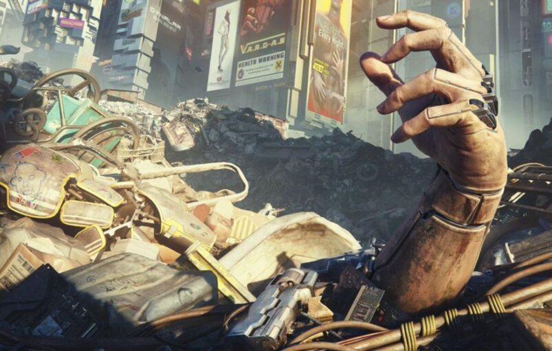 Cyberpunk 2077 hand
