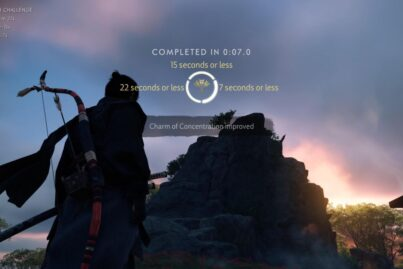 Ghost of Tsushima Gold Archery Challenges