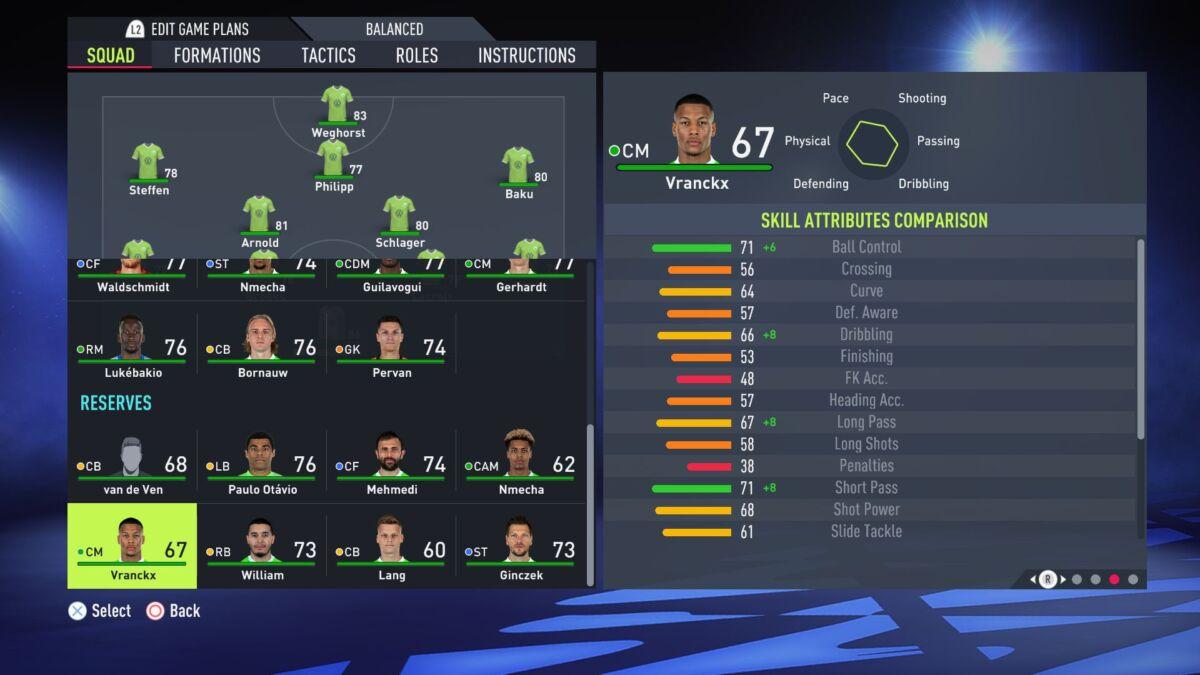 Aster Vranckx FIFA 22