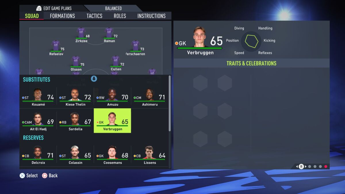 Bart Verbruggen FIFA 22