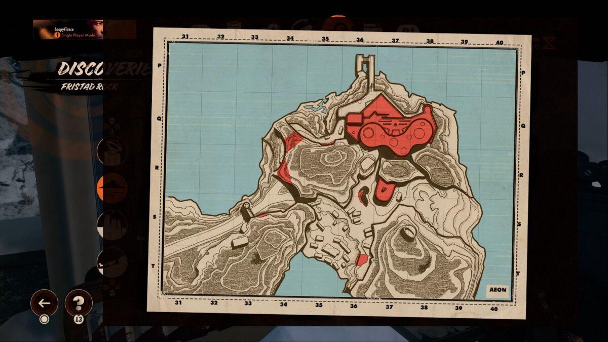 Deathloop Fristad Rock Maps