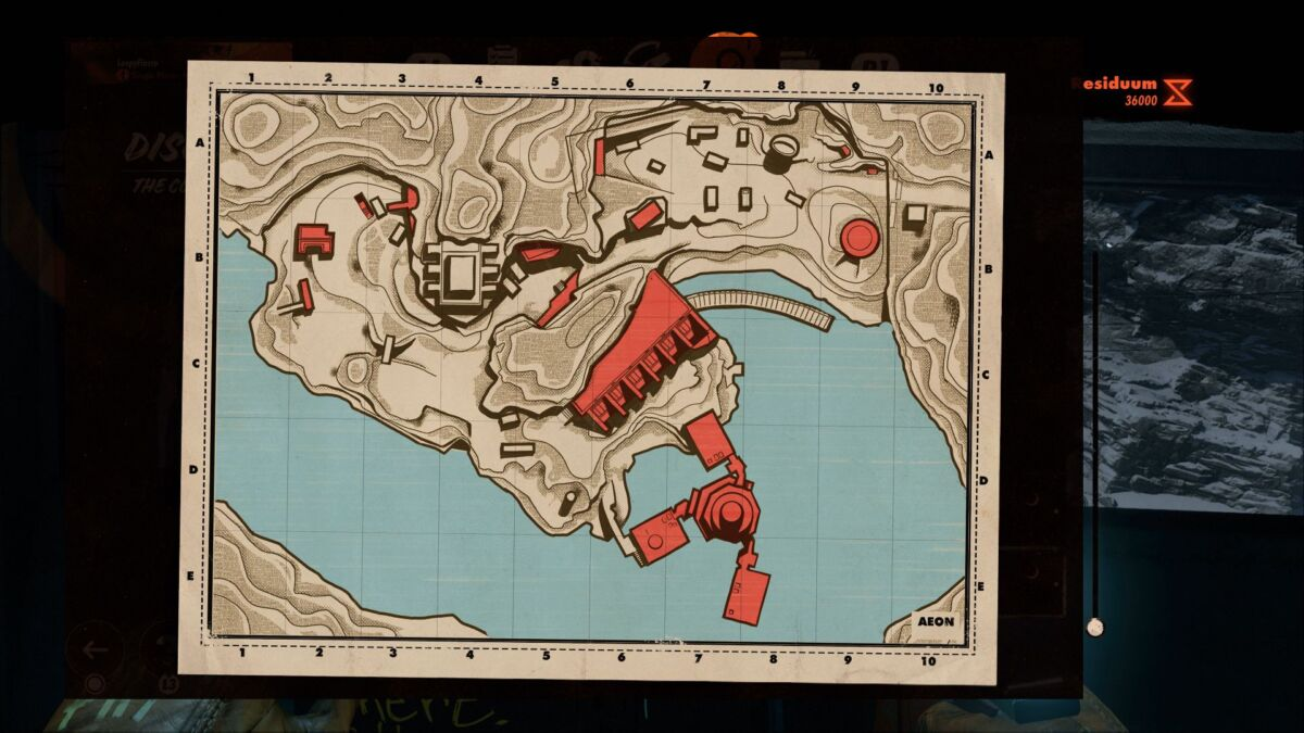 Deathloop The Complex Map