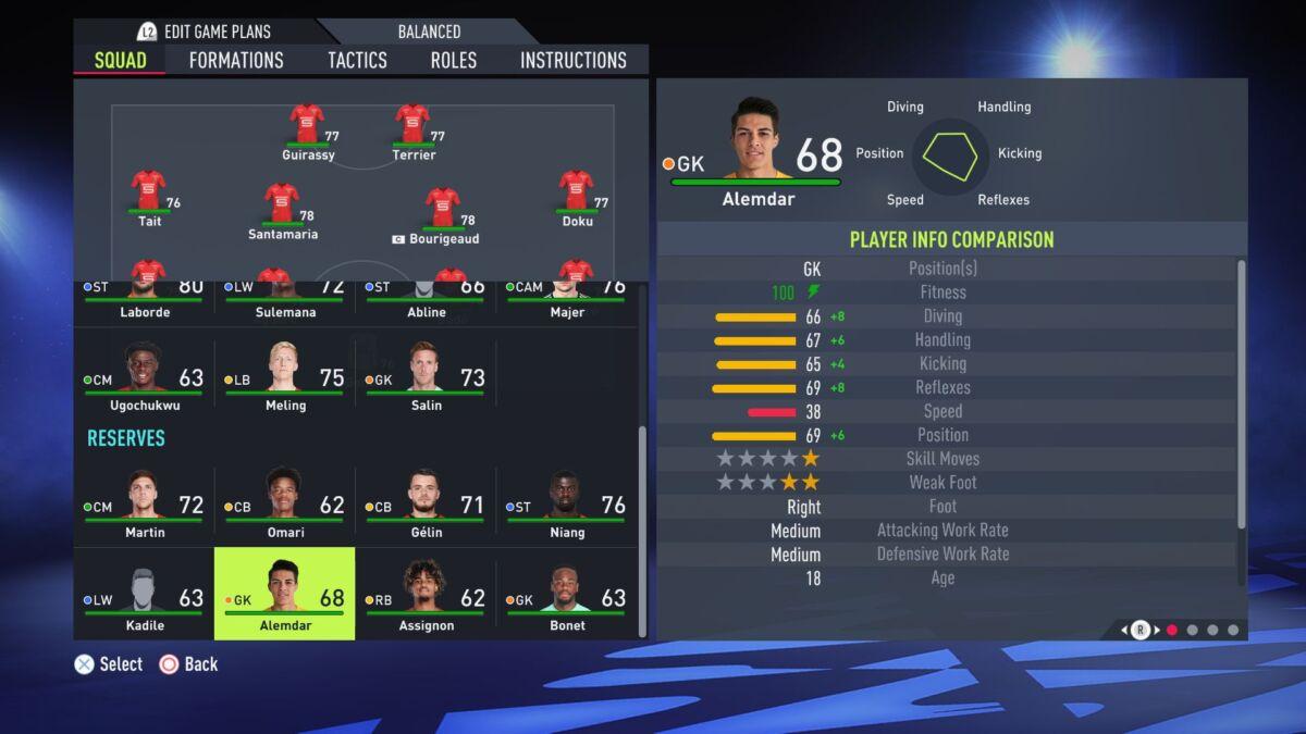 Doğan Alemdar FIFA 22