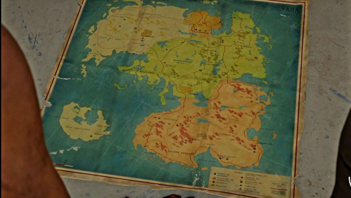 Far Cry 6 map