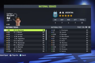Fifa 22 NT Changes