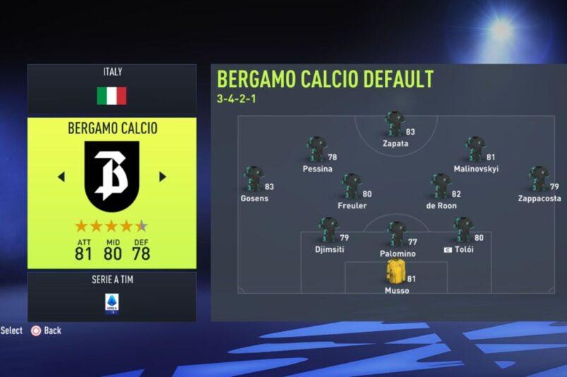 Fifa 22 Lazio
