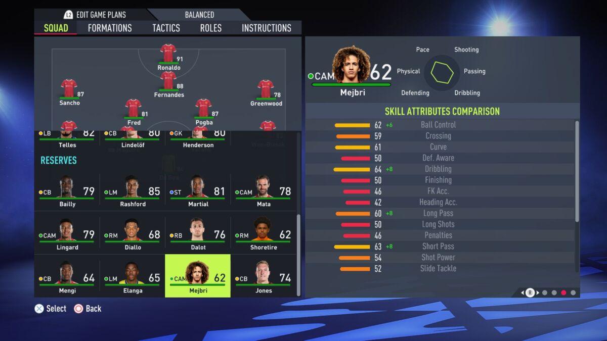 Mejbri FIFA 22