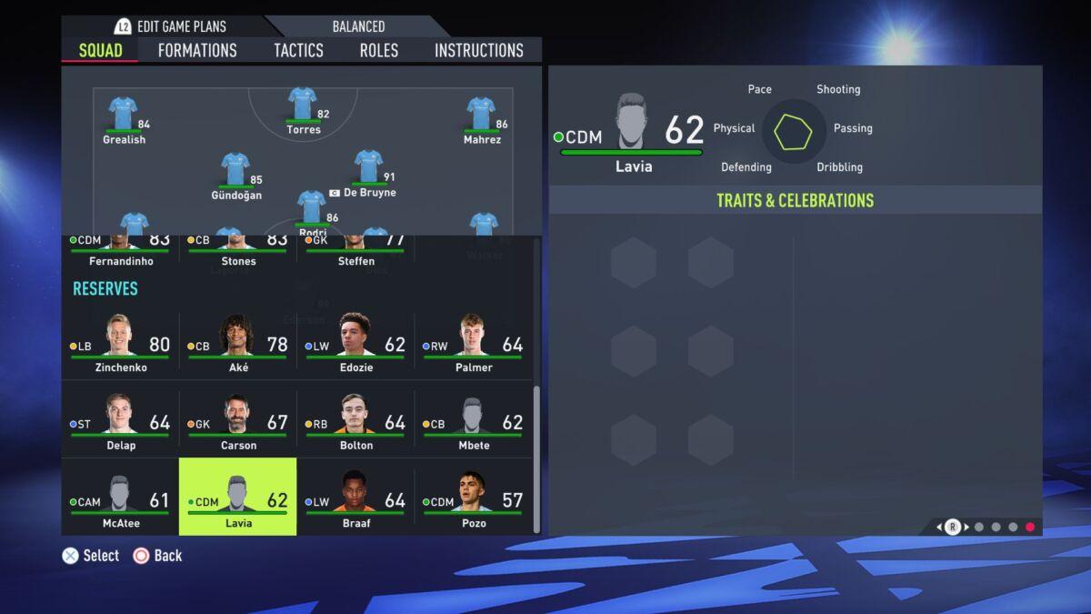 Romeo Lavia FIFA 22
