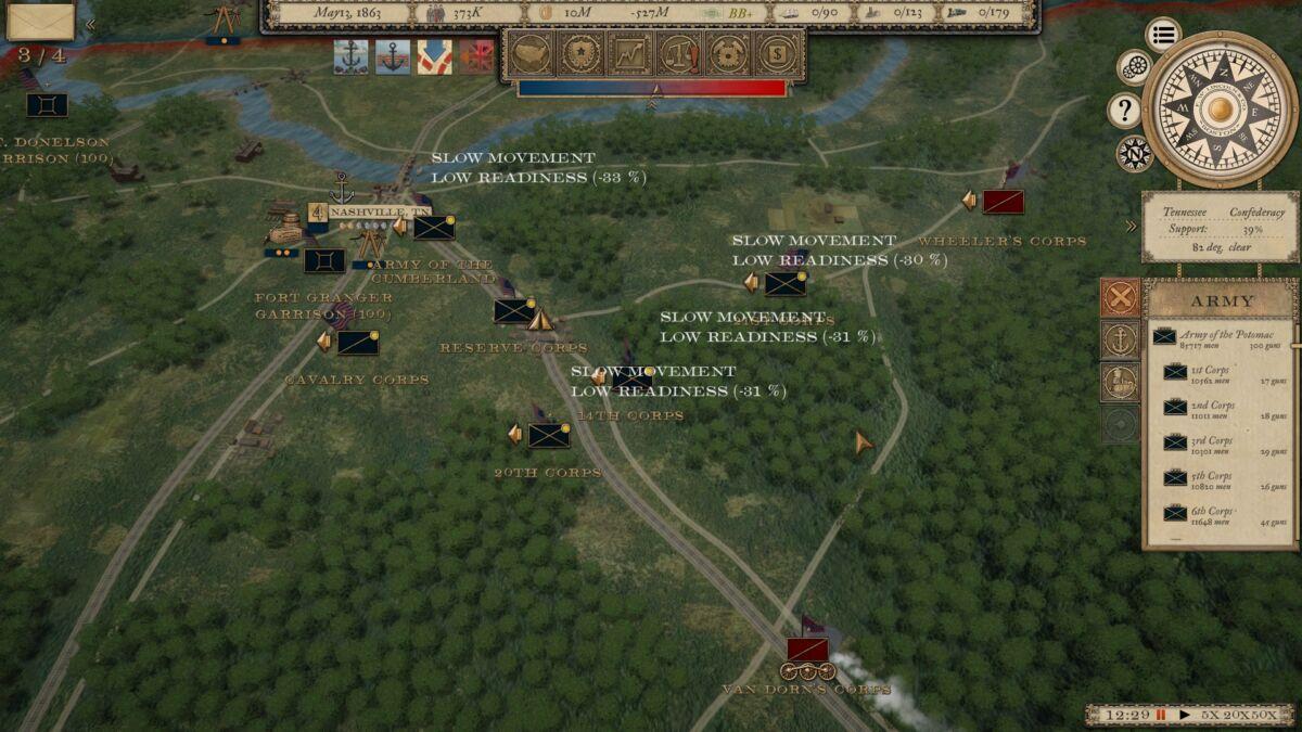 Grand Tactician: Civil War (1861-65)